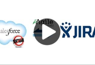 Salesforce & JIRA integration with zAgileConnect