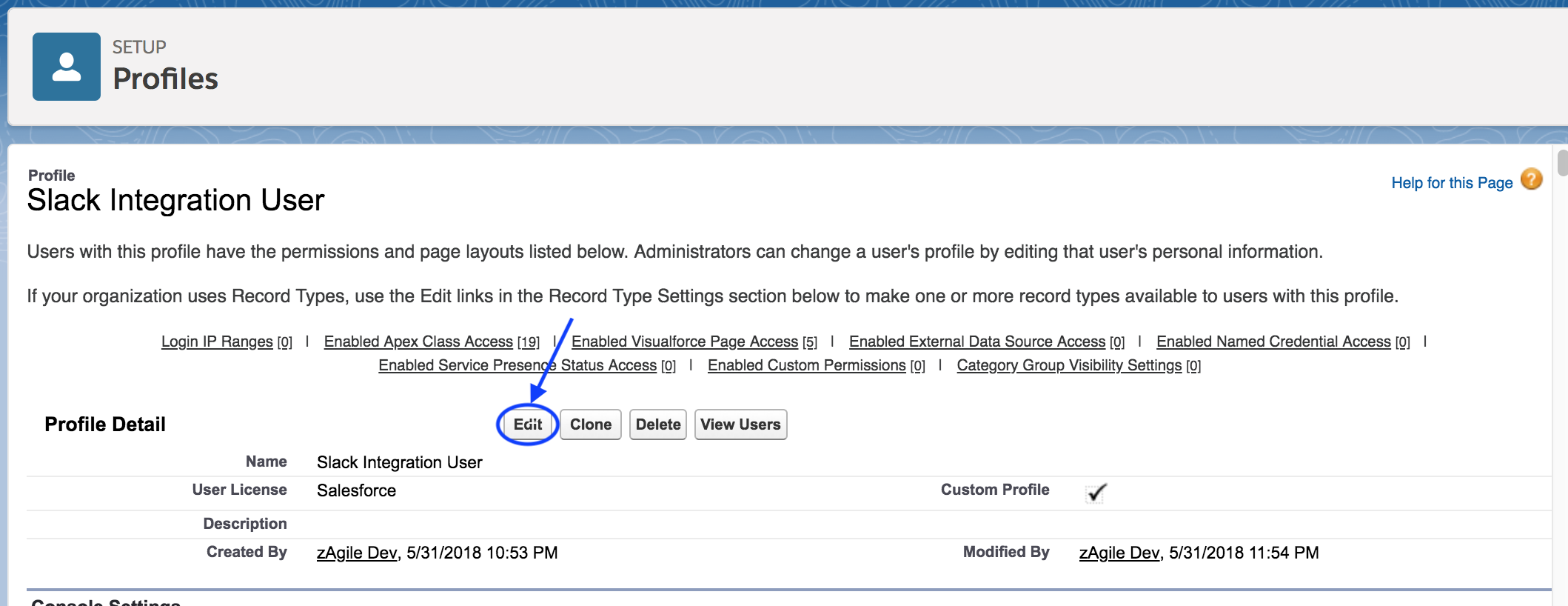 Chat:Bridge - Permissions required for Salesforce